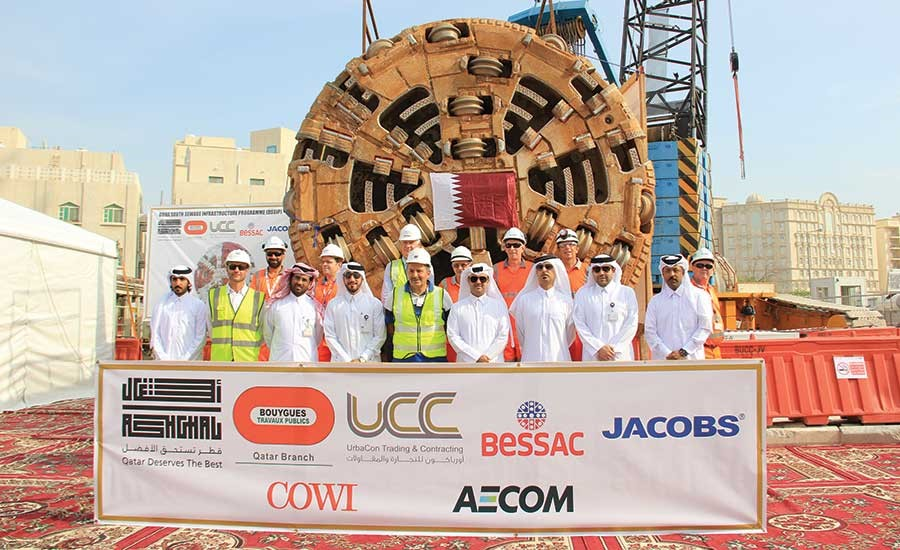 Ashghal, AECOM, Bouygues and UCC's Main Trunk Sewer Project